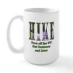 Go For A Hike Large Mug