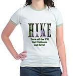 Go For A Hike Jr. Ringer T-Shirt