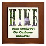 Go For A Hike Framed Tile
