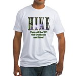 Go For A Hike Fitted T-Shirt