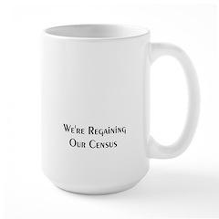 1890 Regaining Our Census Large Mug