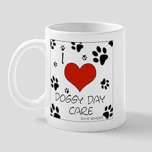 I Love Doggy Day Care 3 Mug