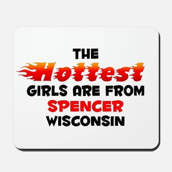 Hot Girls: Spencer, WI Mousepad