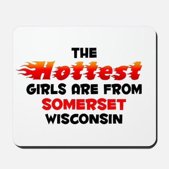 Hot Girls: Somerset, WI Mousepad