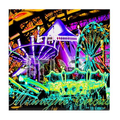 Midnight Circus Tile Coaster