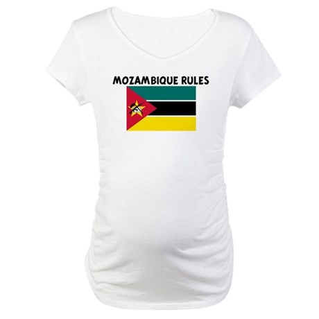 MOZAMBIQUE RULES Maternity T-Shirt