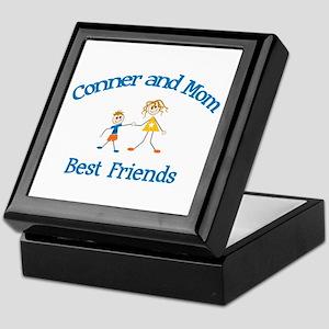 Conner& Mom - Best Friends  Keepsake Box