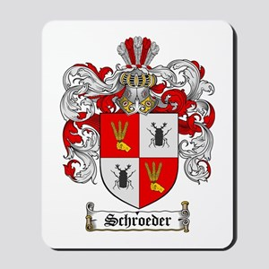 Schroeder Coat of Arms Mousepad
