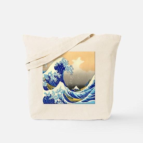 Great Wave Tote Bag