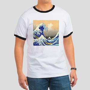 Great Wave Ringer T