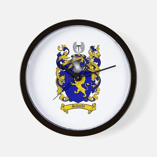 Schmidt Coat of Arms Wall Clock