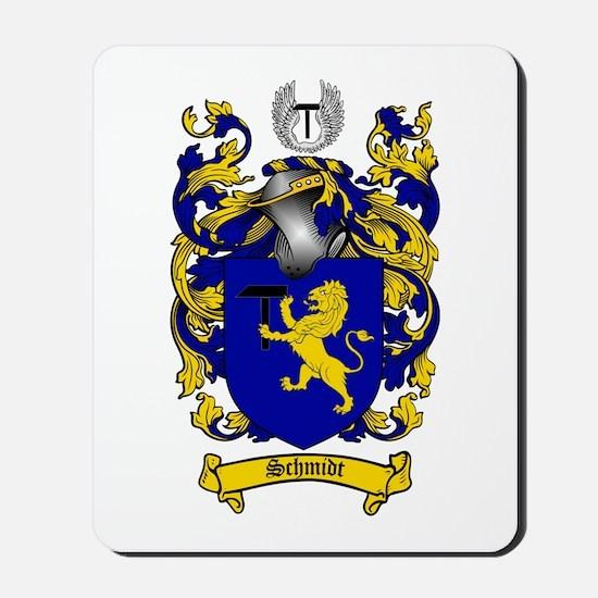Schmidt Coat of Arms Mousepad