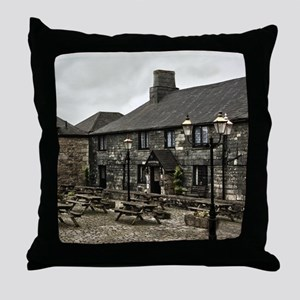Jamaica Inn Throw Pillow