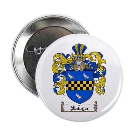 "Sawyer Coat of Arms 2.25"" Button (100 pack)"