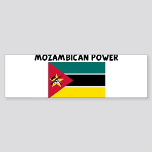 MOZAMBICAN POWER Bumper Sticker