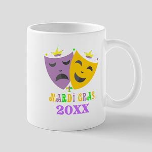 Mardi Gras customized 11 oz Ceramic Mug