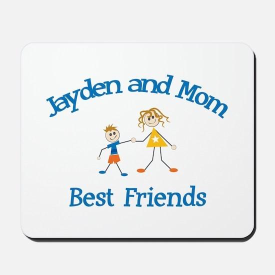 Jayden & Mom - Best Friends  Mousepad