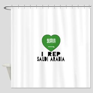 I Rep Saudi Arabia Country Shower Curtain