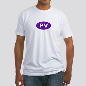 Purple Victory Fitted T-Shirt