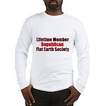 Lifetime Member: Republican F Long Sleeve T-Shirt