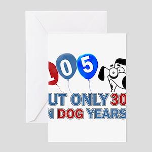 105 Birthday Design Greeting Cards