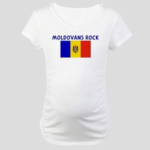 MOLDOVANS ROCK Maternity T-Shirt