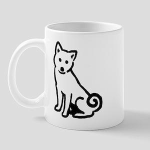 Shiba Sit Mug