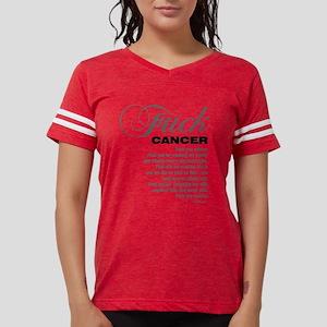 Fuck Cancer White T-Shirt