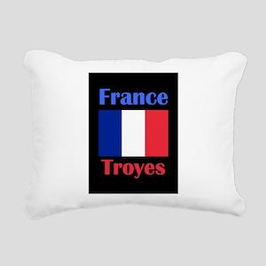 Troyes France Rectangular Canvas Pillow