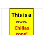 Chillax.zone Large Poster