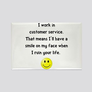 Customer Service Joke Magnets