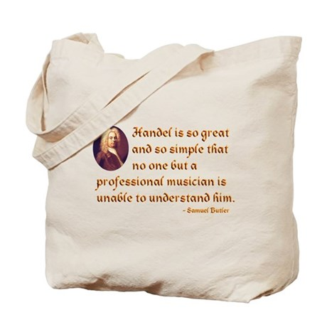 Handel's Simplicity Tote Bag