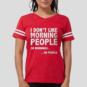 I Don't Like Morning People Women's Dark T-Shirt
