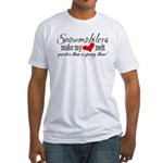 Heart Melt Fitted T-Shirt