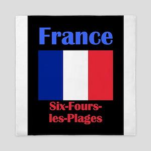 Six-Fours-les-Plages France Queen Duvet