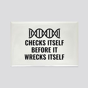 DNA Checks Itself Rectangle Magnet