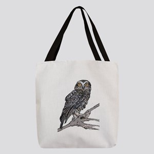 Southern Boobook Owl Polyester Tote Bag