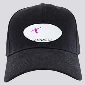 I Flip Out Over Gymnastics Gy Black Cap with Patch