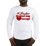 Trucker Hauled My Heart Away Long Sleeve T-Shirt