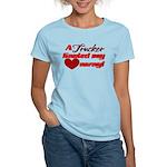 Trucker Hauled My Heart Away Women's Light T-Shirt