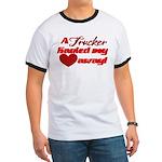 Trucker Hauled My Heart Away Ringer T