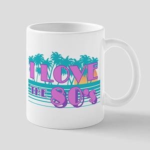 I Love The 80's Mug