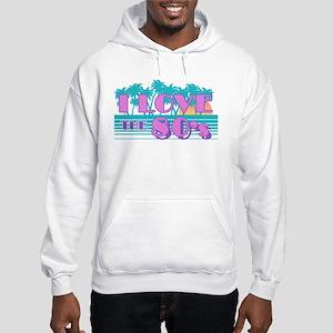 I Love The 80's Hooded Sweatshirt