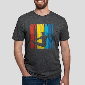Vintage Gymnast Gymnastics Graphic T Shirt T-Shirt