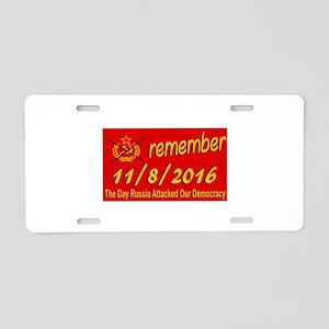 11/8/2016 Aluminum License Plate