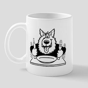 Hungry dog Mug