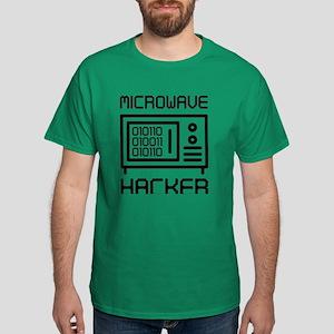 Microwave Hacker Dark T-Shirt