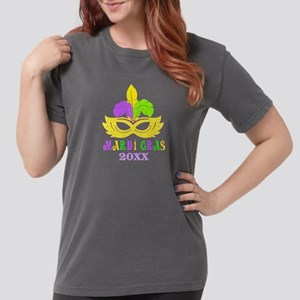 Mardi Gras Year Womens Comfort Colors Shirt