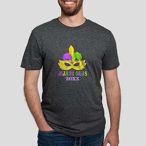 Mardi Gras Year Mens Tri-blend T-Shirt