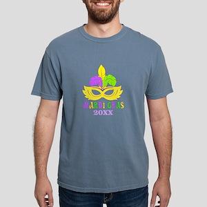 Mardi Gras Year Mens Comfort Colors Shirt
